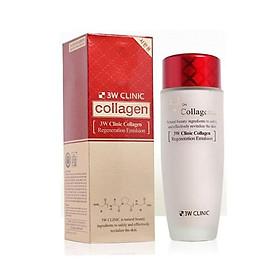 Nước Hoa Hồng Dưỡng Trắng Da Chống Lão Hóa 3W Clinic Collagen Regeneration Softener 150ml - Hàn Quốc Chính Hãng