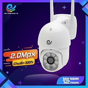 Camera WIFI Xoay Ngoài Trời 2.0Mp Việt Star Quốc Tế Full HD 1080P, Dùng APP CARECAM PRO - Hàng Chính Hãng