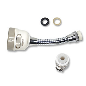Bộ vòi xịt tăng áp lực rửa chén HOBBY VSTADAY có dây nối dài và khớp nối xoay - 3 chế độ phun cực mạnh