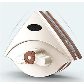 Dụng cụ lau kính 2 mặt điều chỉnh lực hút 5-25mm (Tặng 106 phụ kiện) - Giao màu ngẫu nhiên
