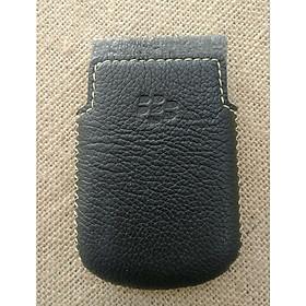 Bao Da Rút Dành Cho Blackberry Bold 9700/9780 Màu Đen Tự Nhiên - Hàng nhập khẩu