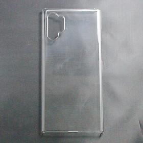 Ốp lưng cứng dành cho Samsung Galaxy Note 10 Plus trong suốt