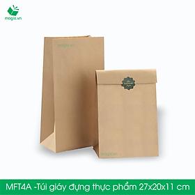 MFT4A - 27x20x11 cm - 50 Túi đựng thực phẩm - Túi đựng đồ ăn