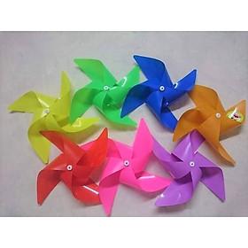 Chong Chóng Nhựa Bộ 500 Cái Nhiều Màu