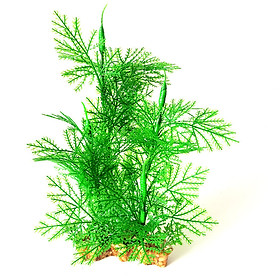 12Inch Tall Aquarium Artificial Plants Artificial Plastic Plants Ornaments Natural Artificial Foliage Plants DIY