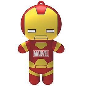 Lip Smacker - Son Siêu Anh Hùng Marvel – Người sắt - Marvel Super Hero Lip Balm – Iron Man Billionaire Punch