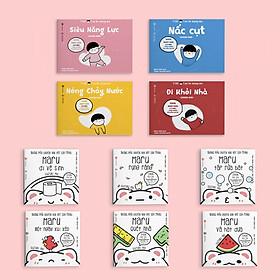 Combo 2 bộ Ehon Taku - Cậu bé mộng mơ và Maru - Ehon Nhật Bản cho bé 2-8 tuổi