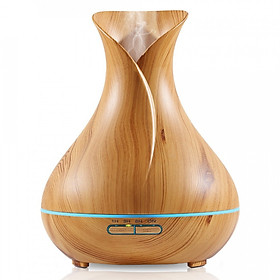 Máy khuếch tán tinh dầu siêu âm tạo ẩm bình hoa tulip - máy xông tinh dầu phun sương Aramacs