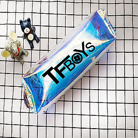 Bóp viết TFBoys laser trong suốt