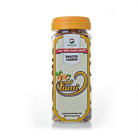 [Hạt Điều Rang Muối A+] Hạt Điều Rang Muối Vỏ Lụa, Hạt Điều Rang Muối A Cồ, Hạt Điều Rang Muối Size A+ 400 Hạt/ 1 Kg - Hộp Nắp Vặn 250g - Hạt Dinh Dưỡng Cao Cấp Fami Nuts