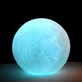LED Moon Light Moon Light Personality Multicolor 3D Print Home Decor Earth Perfect Gift