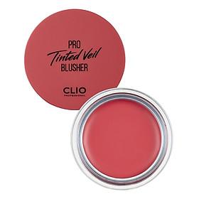 Má Hồng Trang Điểm Clio Pro Tinted Veil Blusher