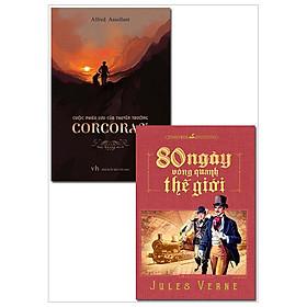 Combo 80 Ngày Vòng Quanh Thế Giới + Cuộc Phiêu Lưu Của Thuyền Trưởng Corcoran (Bộ 2 Cuốn)