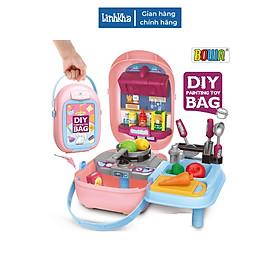 Đồ Chơi Nhà Bếp Đồ Chơi Nhập Vai Bowa - 32 chi tiết - Có Thẻ Nhựa Cho Bé Tự Trang Trí Ngoài Hộp - Mini Kitchen Set Toys