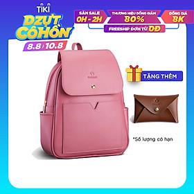 Balo nữ thời trang YUUMY YBA24 thích hợp đi học, đi du lịch. Nhiều ngăn  rộng rãi đựng vừa ipad, sổ tay.