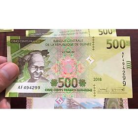 Tờ tiền cổ Guinea 500 Francs, quốc gia châu phi xa xôi