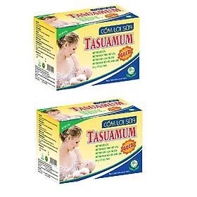 2 HỘP CỐM LỢI SỮA TASUAMUM GOLD