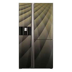 Tủ Lạnh Side By Side Inverter Hitachi R-M700AGPGV4X (584L) - Hàng chính hãng