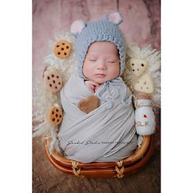Chụp ảnh cho bé sơ sinh tại nhà của gia đình - Gói NewBorn Home Daisy