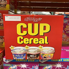 Kelloggs Cup Cereal 30g X 18P