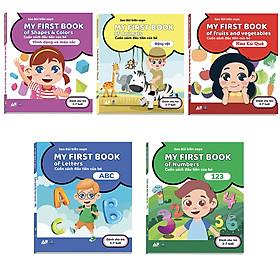Combo 5 Cuốn Sách Song Ngữ Đầu Tiên Của Bé 2 - 7 Tuổi - My First Books