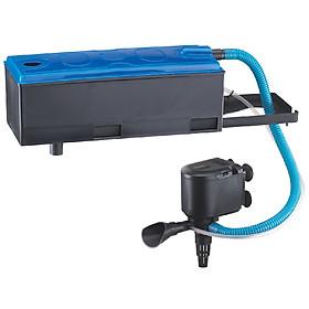 Combo máy bơm, máng lọc, RS 7800 cho hồ cá cảnh