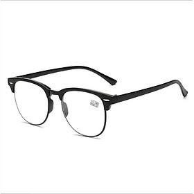Kính viễn thị gọng tròn nam nữ mắt to cao cấp KDN - KVN190