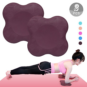 Yoga Knee Pads Thick Soft Cushion Mats Kneeling Support Lightweight Knees Wrists Hands and Elbows Protect Pad for Yoga