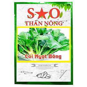 Hạt giống cải ngọt bông cao sản - Hạt giống rau Sao Thần Nông