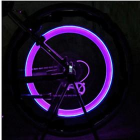Đèn LED gắn van đổi màu cho bánh xe máy ô tô 206131 1C(Hồng)