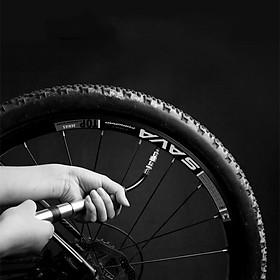 Bơm xe đạp Bơm xe máy Phụ kiện xe đạp thể thao dã ngoại leo núi mini Wild Man GK1 - Hàng chính hãng