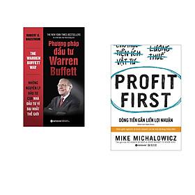 Combo 2 cuốn sách: Phương Pháp Đầu Tư Từ Warren Buffett + Dòng Tiền Gắn Liền Lợi Nhuận