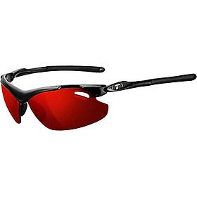Kính mát thể thao Unisex Tifosi Tyrant 2.0 - Gọng Gloss Black, Bộ 3 tròng Clarion Red / AC Red / Clear