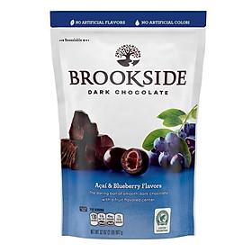 Kẹo Socola đen nhân Việt Quất Brookside Dark Chocolate của Mỹ 907g (Mẫu mới)