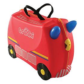 Hình đại diện sản phẩm Vali Trẻ Em Trunki - Xe Cứu Hỏa Freddie (0060-GB01)