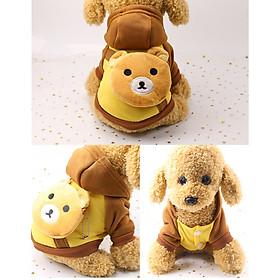Áo cho chó mèo (2 Chân) có Balo trên Lưng, Áo Quần Thú Cưng (Tự Chọn)