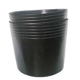 100 Chậu nhựa C6 15x11x11 trồng cây và ươm cây giống-0277100