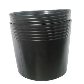 50 Chậu nhựa trồng cây C6 15x11x11 trồng cây và ươm cây gióng-0277100