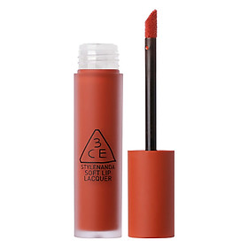 Son Kem Lì 3CE Soft Lip Lacquer - Null Set