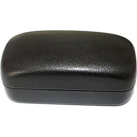 Hộp đựng mắt kính chống vỡ chuyên dụng kiểu dáng bánh mì - Màu đen
