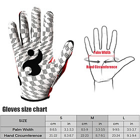 Batting Gloves Unisex Baseball Softball Batting Gloves Anti-slip Batting Gloves For Adults-2