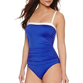 Bộ Bơi Liền Mảnh Viviane Solid One Piece Swimsuit SW0917_14 - Xanh