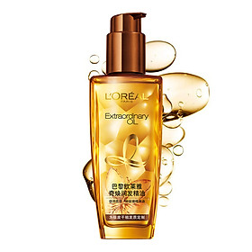 L'Oreal (LOREAL) Qi Huan Run hair essential oil 100ml (very dry hair nourish nourish dry and easy to absorb) (new and old packaging random delivery)