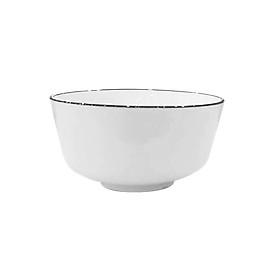 Com bo 10 Bát cơm JYSK nID sứ trắng bóng DK11x5,8cm