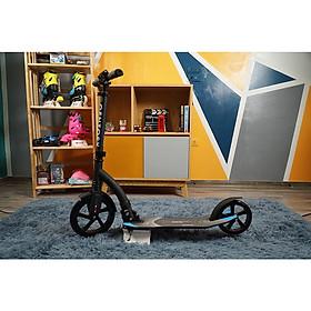 Xe trượt scooter người lớn Centosy A7 hàng chính hãng  - màu Đen + tăng chiều cao 3 nấc + gập được