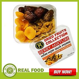 Hộp Hỗn Hợp Quả Mọng 250G - Thương Hiệu Real Food Store
