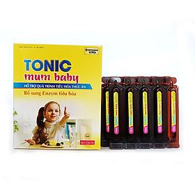 Siro ăn ngon cho bé Tonic Mum Baby bổ sung chất xơ hòa tan cho cơ thể, tiêu hóa tốt, tăng miễn dịch 200ml thành phần từ 5 loại enzyme, vitamin B, DHA