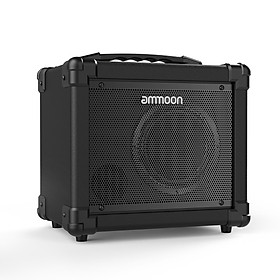 ammoon GA-10 10W Portable Electric Guitar Amplifier Amp BT Speaker Supports Clean/Distortion Modes AUX IN Gain Bass