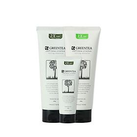 Tinh Chất Trà Xanh Dưỡng Giữ Nếp Tóc Uốn Haken Green Tea Curl Raise 2X essence Chính Hãng 50g