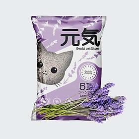 Cát GENKI 5L Cát vệ sinh cho mèo của Hanpet